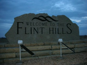 Annoucement to the Flint Hills.