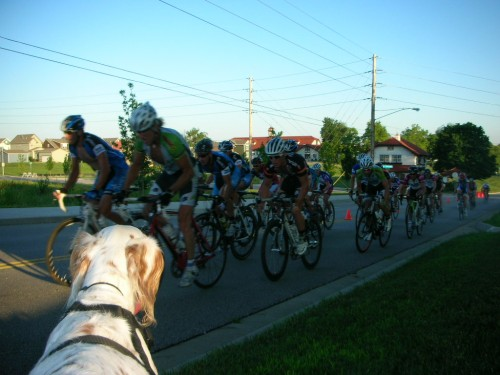 Bromont watching me suffer.  Really suffer.