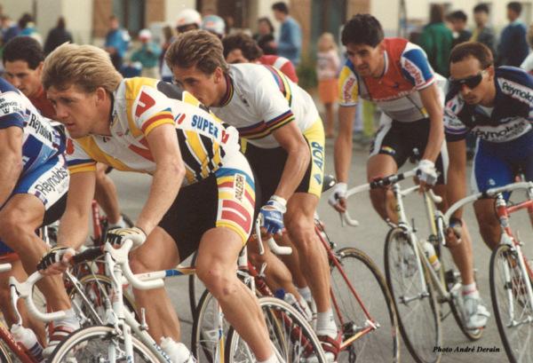 Vincent Barteau and Greg LeMond