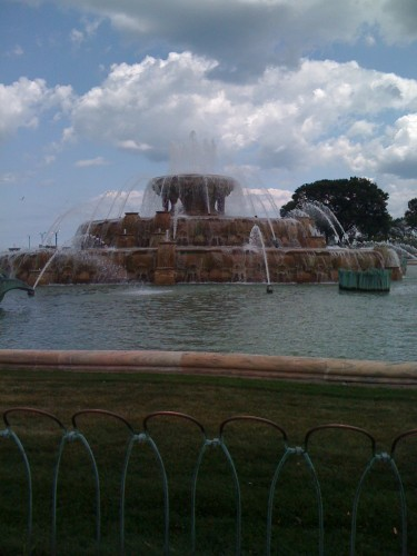 Buckingham Fountain.  One of my favorite fountains in the world.