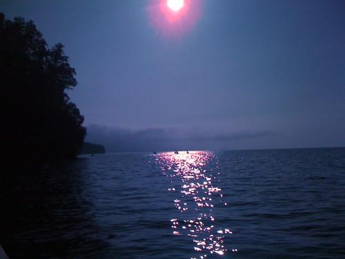 Sunset on Lake Superior.