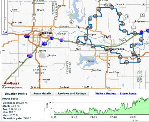 Map of the ride in case anyone wants to try to replicate it.  Nearly 8000 feet of climbing.