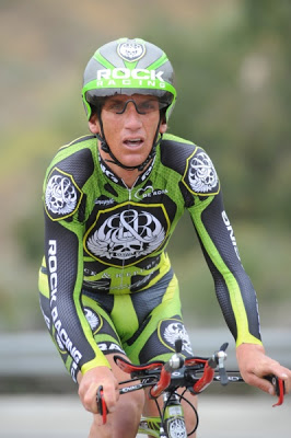 The is Tyler Hamilton from the 2008 Redlands prologue.  Wow, that was 5 year's ago.