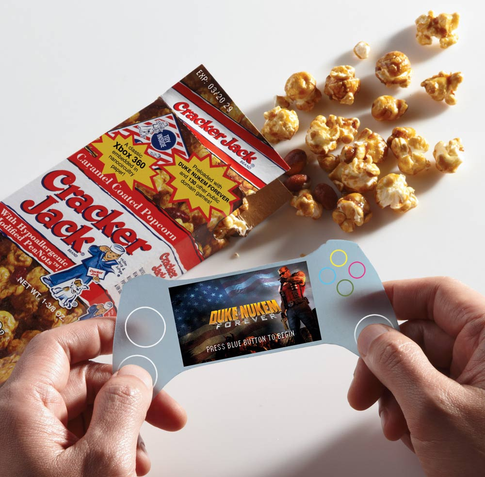 Image result for opening cracker jack box