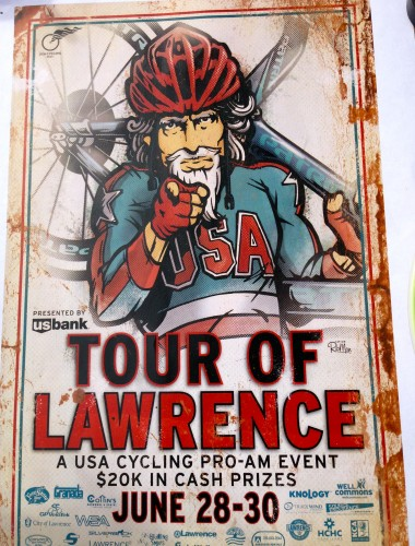 The Tour of Lawrence Flyer for 2013.
