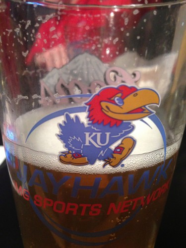 We all needed a little more of this yesterday after watching KU melt the last 3 minutes of the game yesterday.