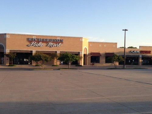 Richardson Bike Mart.  It is huge.