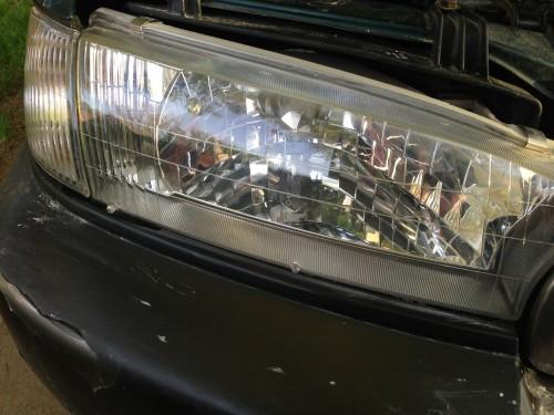 Headlight after.
