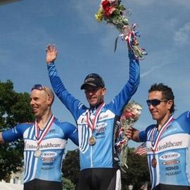 The podium at Sommerville.  Same old, same old.