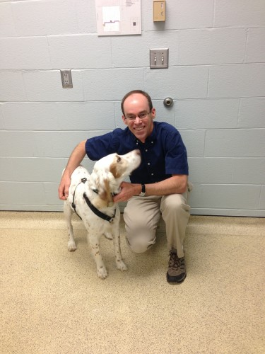 Bromont and Ken Harkin.  Ken has been very instrumental in taking care of all our sick dogs.  He went to Vet school at Iowa State and used to ride with me back in the early 80's when I rode for Levi's/Raleigh.  It is one of the best relationship happen-stances that has occurred to me from riding bicycles.
