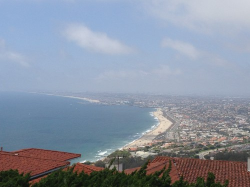 One of the views from Palos Verdes.