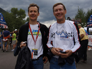 Dale and Wayne Stetina at the Pro Challenge a couple years ago.