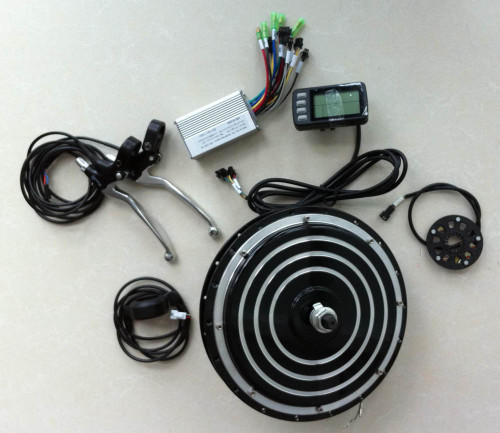 Electric bike motor kit.