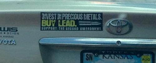 Lead, a precious metal?
