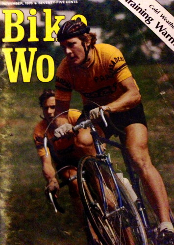 And a Bike World magazine with Wayne and Dale Stetina on the cover.