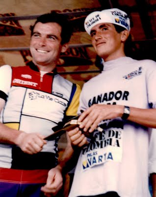 Bernard Hinault at the RCN in 1986.