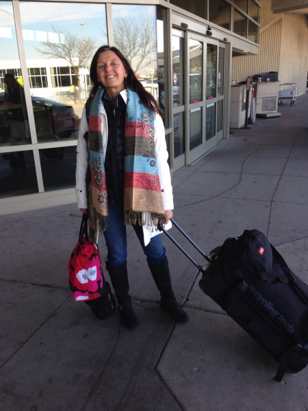 Trudi headed off to Park City for a little BMC mini-camp for the US riders.