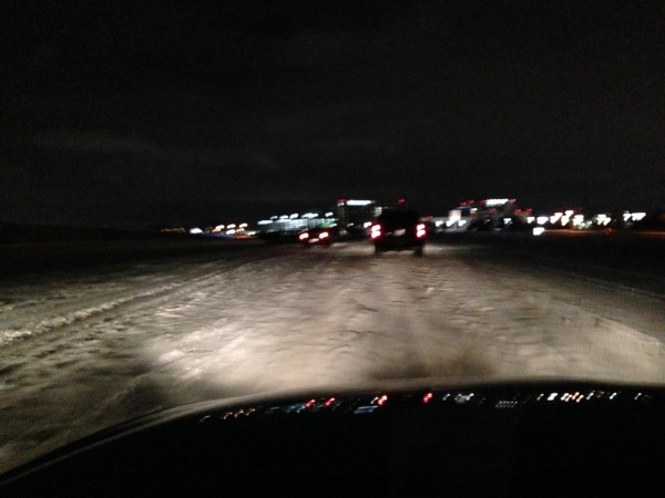 This was the George Bush Toll Road last night driving up to Plano.