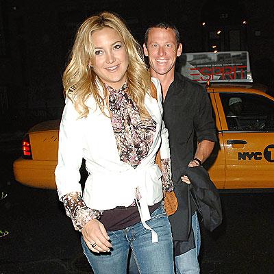 Lance and Kate Hudson.