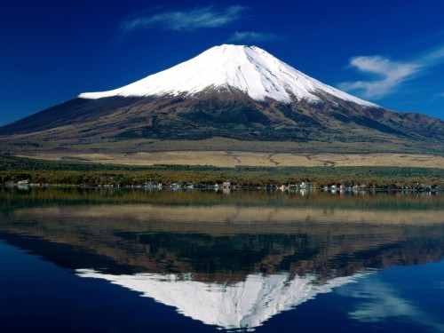 Nice photo of Mt. Fuji.