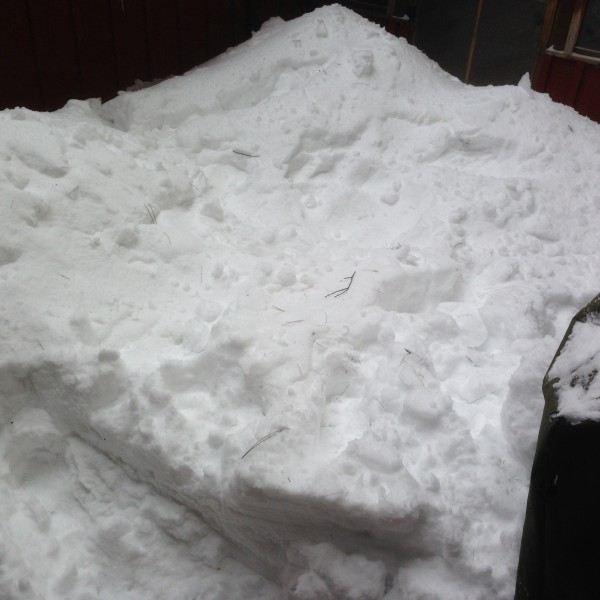 Dennis' porch before.....