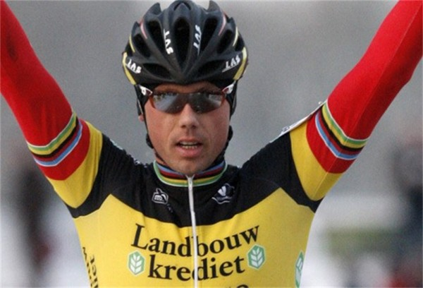 Sven will have to go back to his Belgian National Championship jersey.