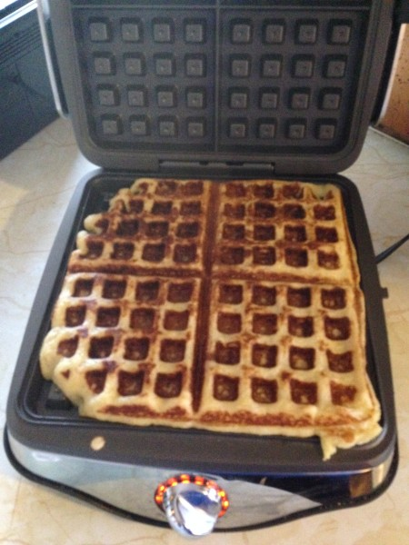 I made the waffle leftovers for breakfast this morning. Preparing for the classics.