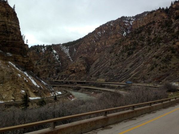 The Interstate highway before Glenwood Springs is one of the most amazing roads in the world.