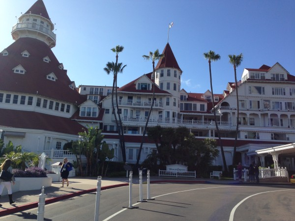 The Hotel Del on Coronado.