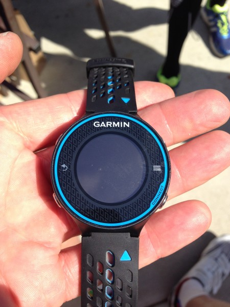The Garmin of choice for running.
