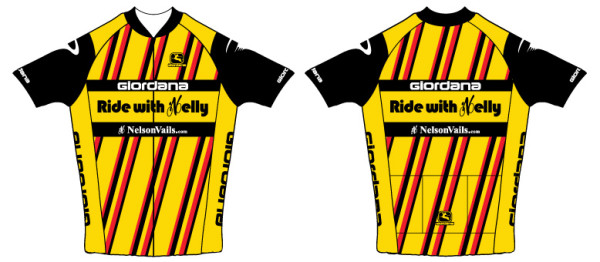 Nelson is having Gita make retro Levis jerseys for his rides.  Michael Fatka came up with this design-it is a classic.