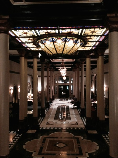 We did a loop of the Driskoll Hotel.  It was pretty ornate.