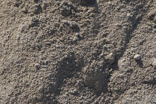Dry cement powder.