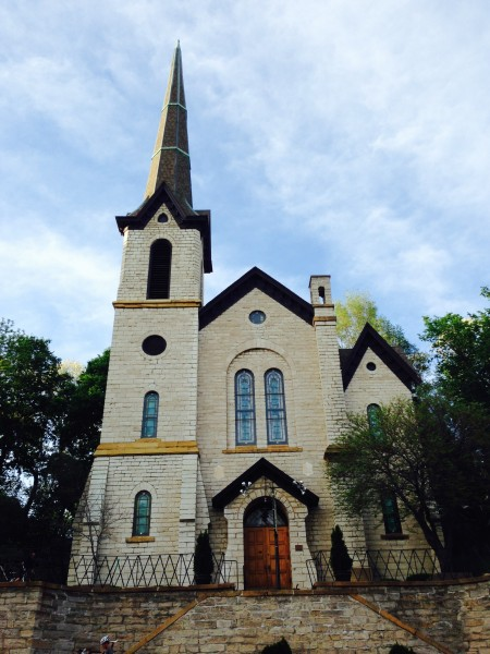 You can buy this church in downtown Burlington, just a block off Snake Alley.  It is beautiful, wonder how much it is?