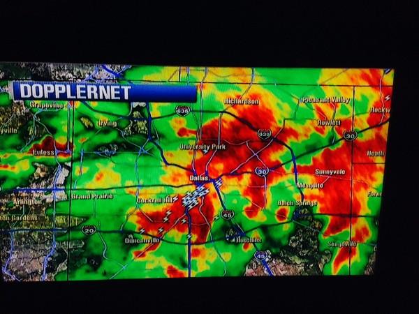 When it gets bad in the Dallas area, it seems pretty bad.