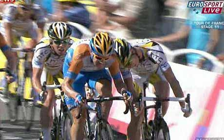 Mark Renshaw in the Tour.