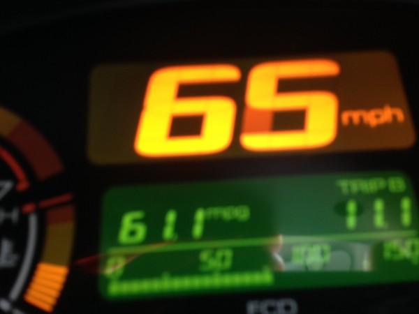 Pretty good mileage so far.