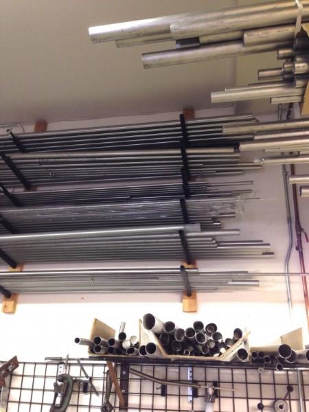 Kent collects titanium tubing.