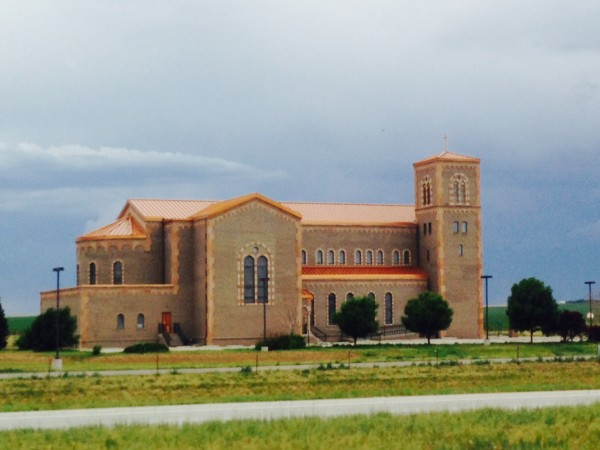 This church is just east of Denver.  It seems out of place.  I've always wanted to stop and c