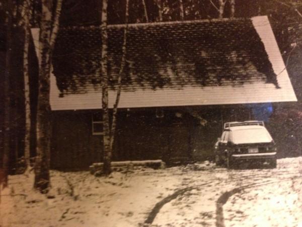 Original cabin.