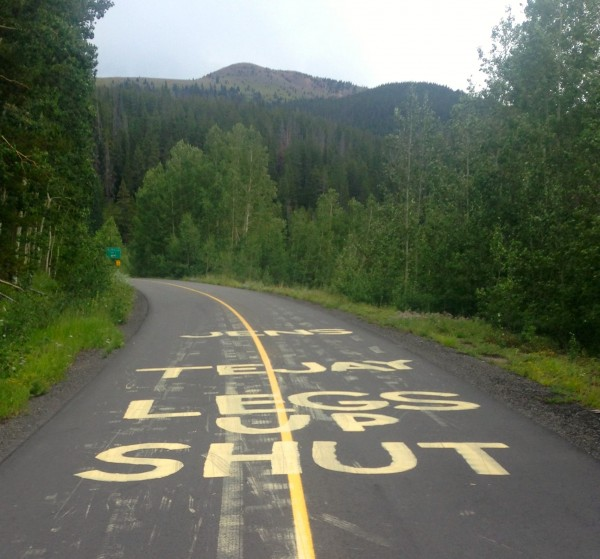 The Vail TT course is ready for Jens on Saturday's stage.