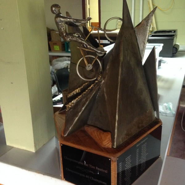 This is what we're racing for on Saturday.