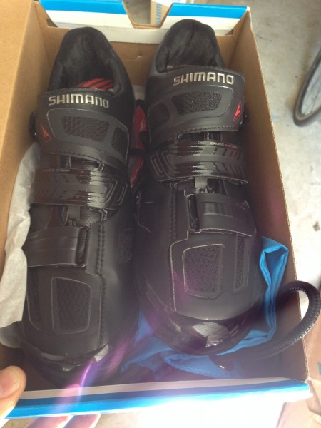 I haven't had any black cycling shoes for quite a while.  Makes sense for cross and MTB racing.