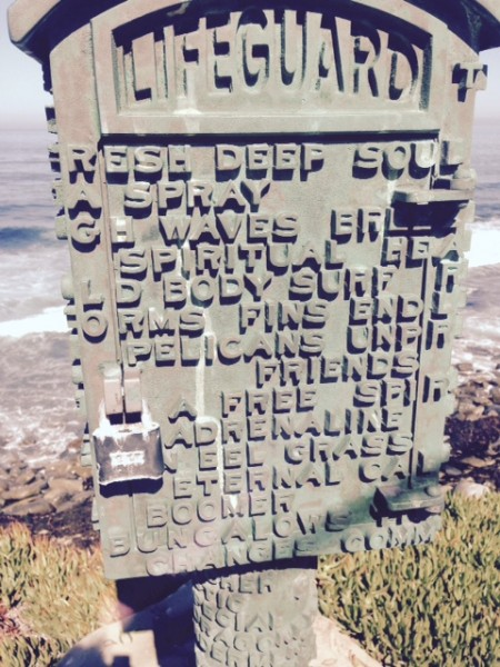 I saw this lockbox in La Jolla yesterday.