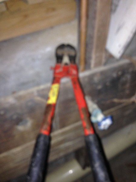 I found these down the basement. I hate these without the proper tools for the job!
