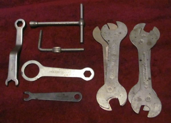 All these Campy tools have a place in my heart.