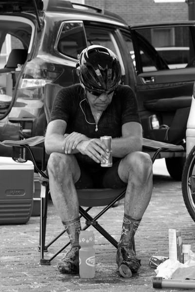 A photo of Dan from Dirty Kanza that Specialized used in their catalog last year.