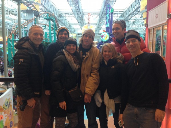 Mall of America group shot.