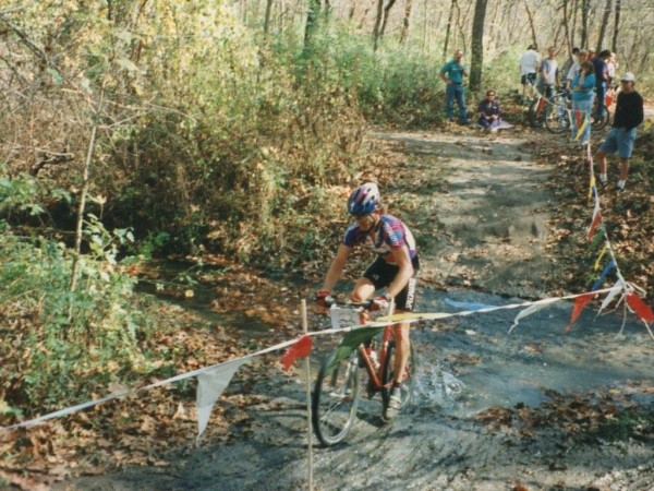 Here's a old time photo I saw on Facebook of me racing locally back in the 90's.  I didn't realize I missed it so much.