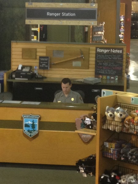 The store was so big they had their own park ranger stationed there.